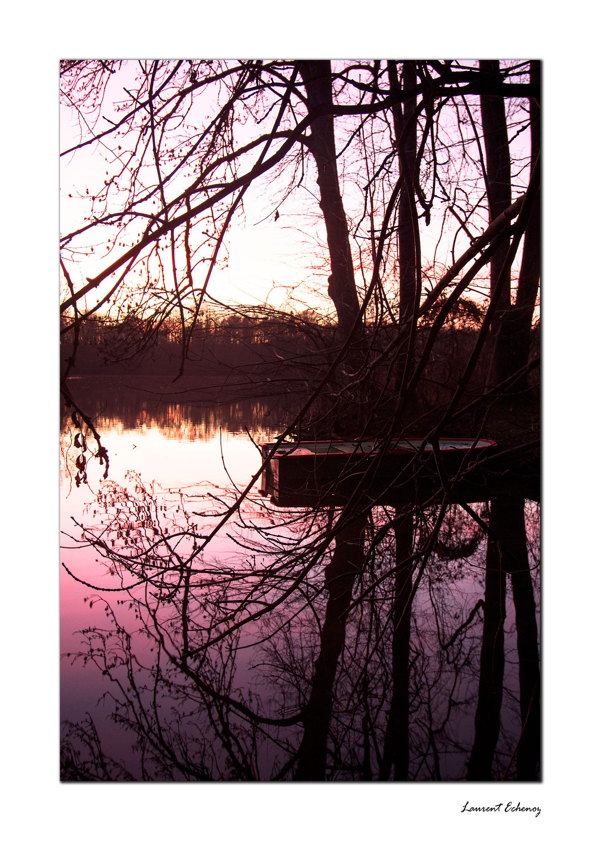 Au calme de l'étang