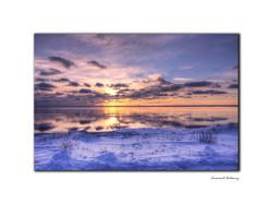 Le grand étang de Miquelon