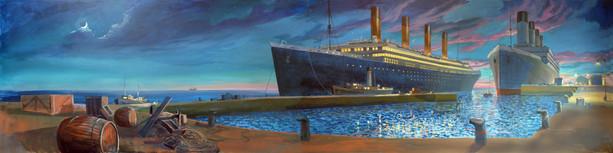 Mural Titanic