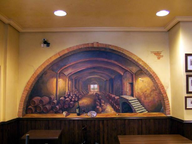 Mural de bodega