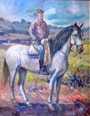Eduardo a caballo
