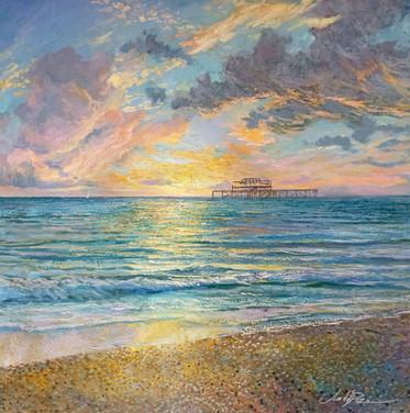 Brighton sunset