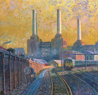Battersea train