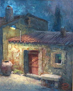Noche en el pueblo