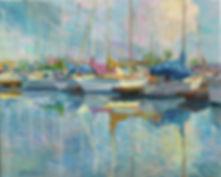 Sailing, boats, marina, cuadros de marinas, veleros, Juan del Pozo