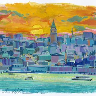 Istambul sunrise