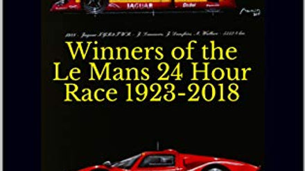 Winners of the Le Mans 24 Hour Race 1923-2018: