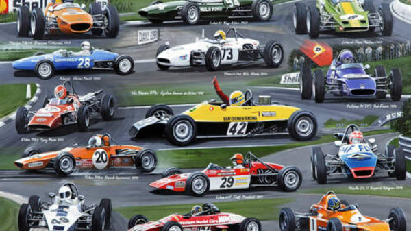 Historic -Famous Arch Motors Formula Ford racing cars