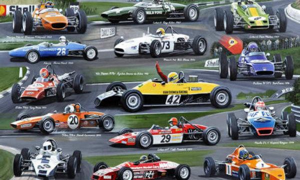Historic -Famous Arch Motors Formula Ford racing cars