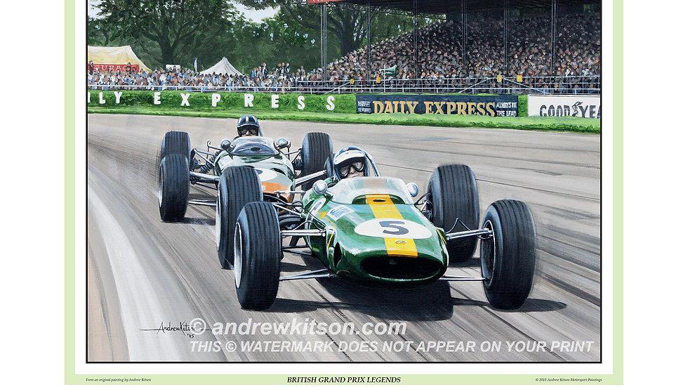 British Grand Prix Legends-Jim Clark