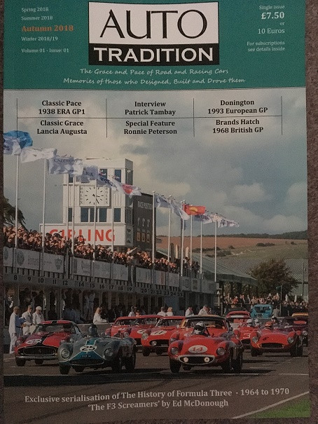 Congratulations to Mike Jiggle . It is a brave decision to launch a new magazine. The quality of Production and articles is outstanding. Anyone with an interest in historic motorsport will love this new quarterly publication
