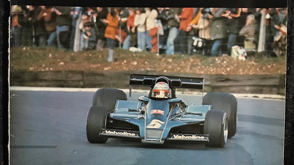 British Grand Prix Programme 1977