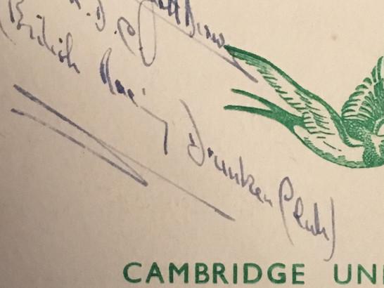Archie Scott Brown autograph