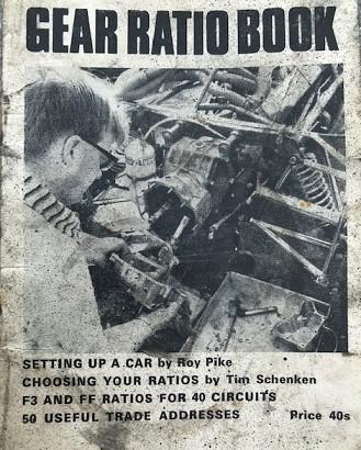 F3 & F.Ford Gear Ratio Book-1969 !