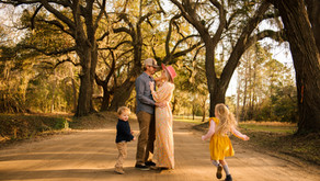Southern Boho Family Session with Photographer Elizabeth Cryan