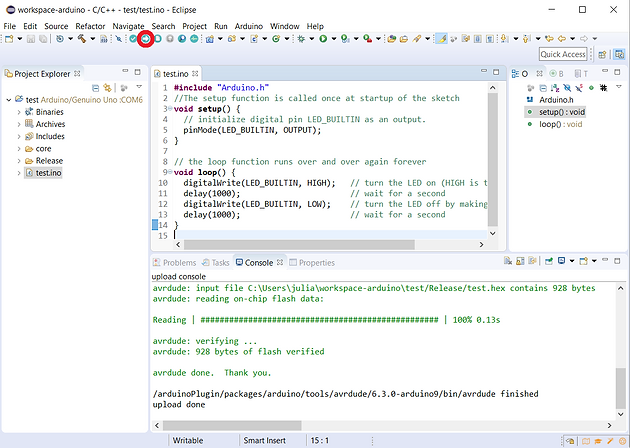 ENG] Working with Eclipse IDE for Arduino Projects (C/C++ or