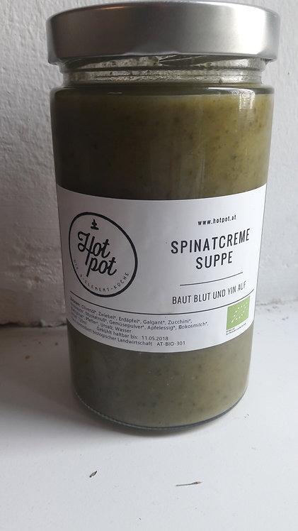 Spinatcremesuppe 720 ml (=2 Portionen)