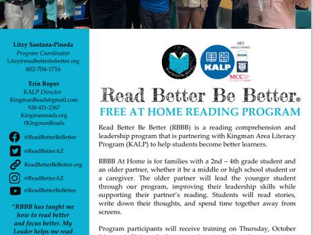 Family literacy program comes to Kingman