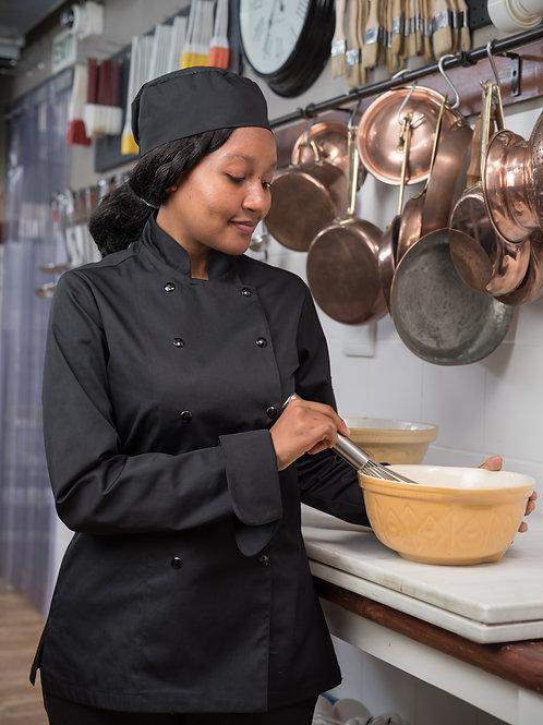 Peppa Ladies Long Sleeve Chef Jacket