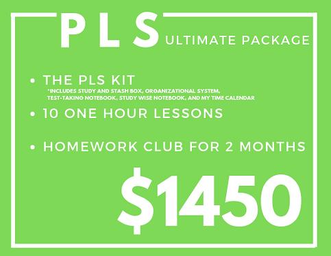 Ultimate PLS Package