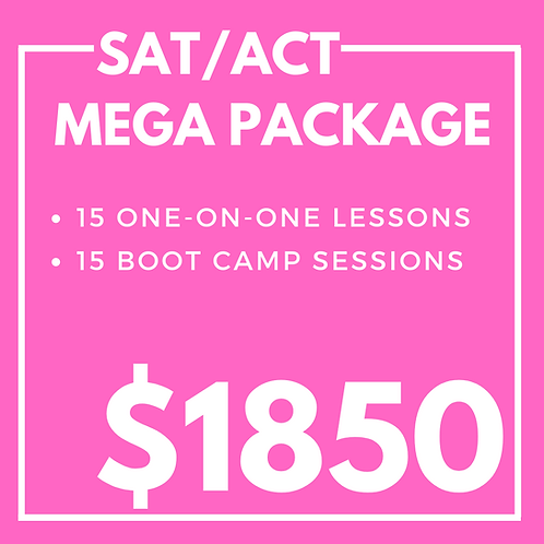 SAT/ACT Mega Package