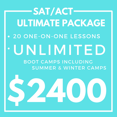 Ultimate SAT/ACT Package