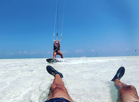Silky Sands, Turquoise Kite Surf