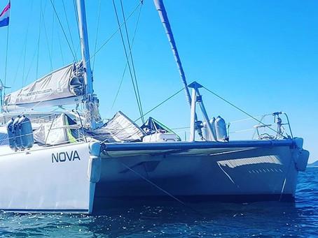 Sailing from Denia to Palma 17 May 2018