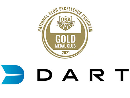 DART Swimming named USA Swimming Gold Medal Club