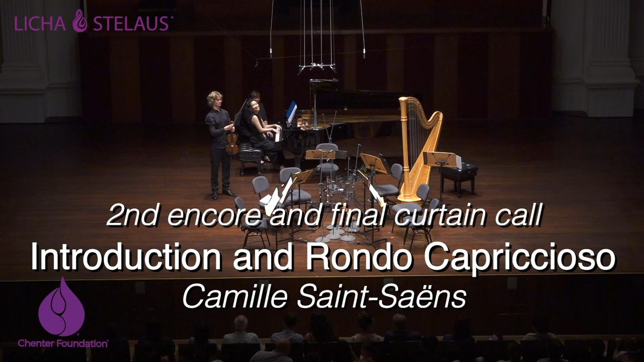 Saint-Saëns Introduction and Rondo Capriccioso