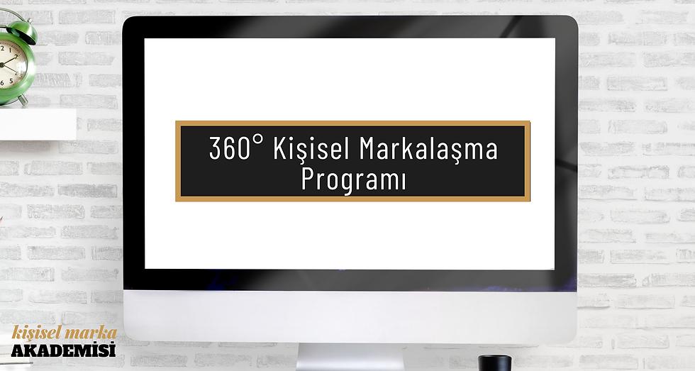 360 Kişisel Markalaşma Programı