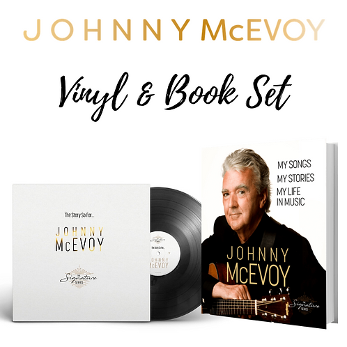 Johnny McEvoy Vinyl & Book Set
