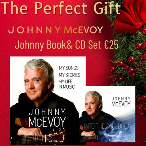 Johnny McEvoy Book and 'Into The Cauldron' CD Set