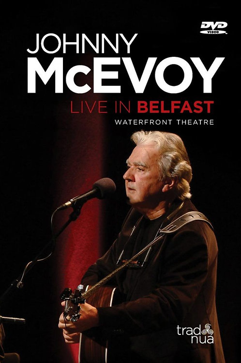 Johnny McEvoy DVD – Live in Belfast