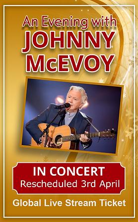 Johnny McEvoy Global Online  rescheduled
