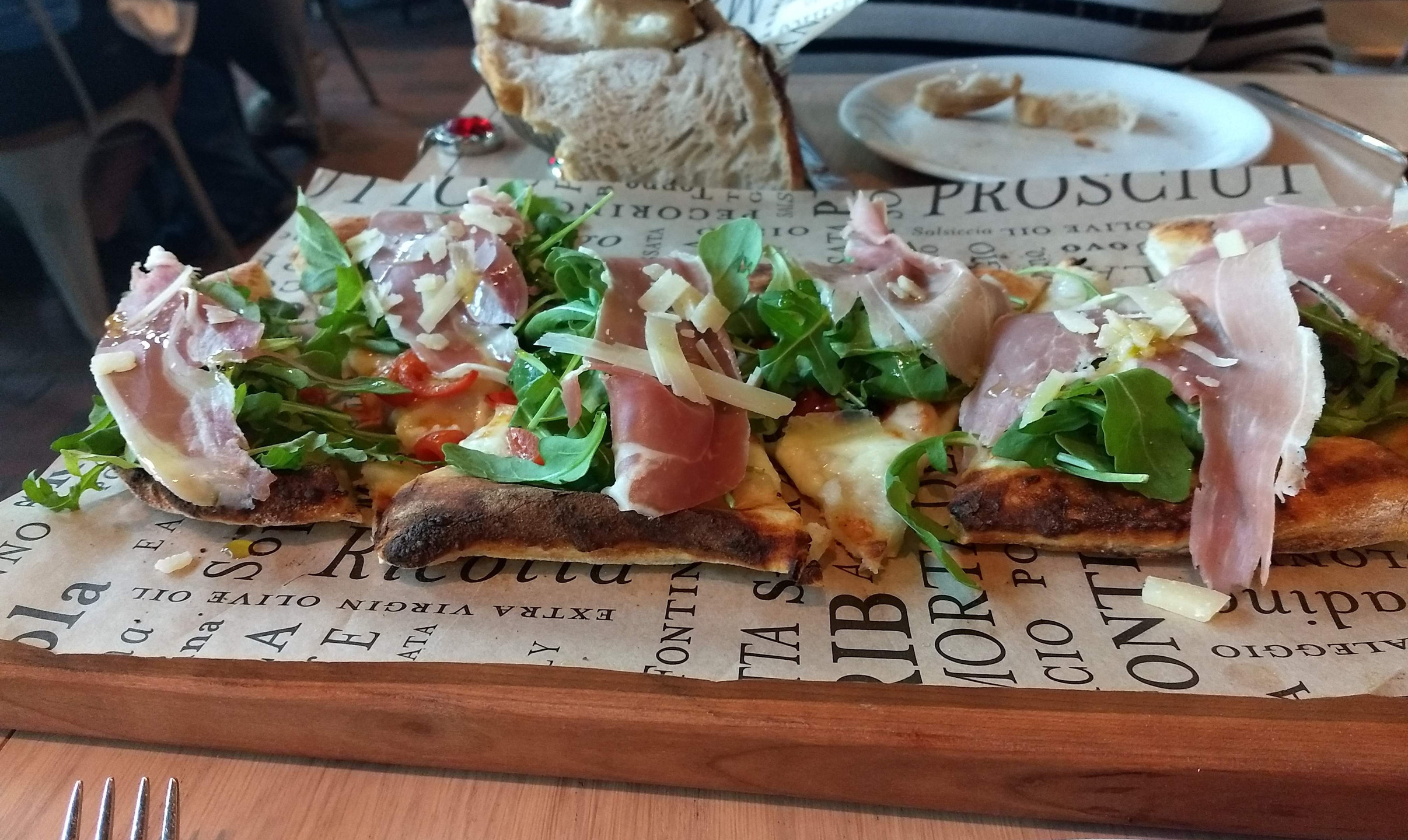 Our delicious pizza!