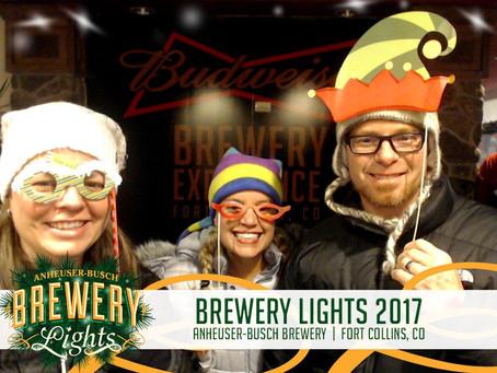 Budweiser Brewery Lights