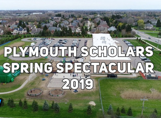 Plymouth Scholars Spring Spectacular - April 2019 Video