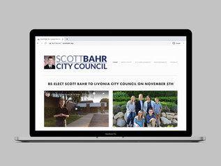 Scott Bahr for Livonia City Council Website