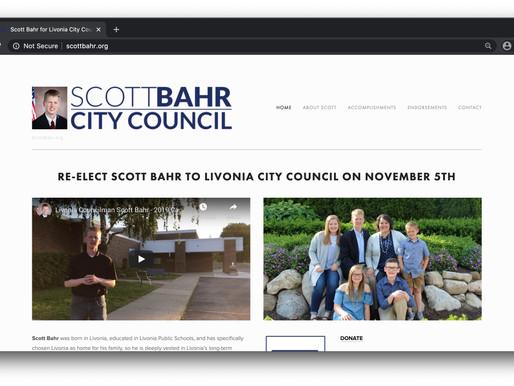 Scott Bahr for Livonia City Council Website