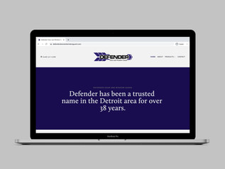 Defender Door and Window Guard Website