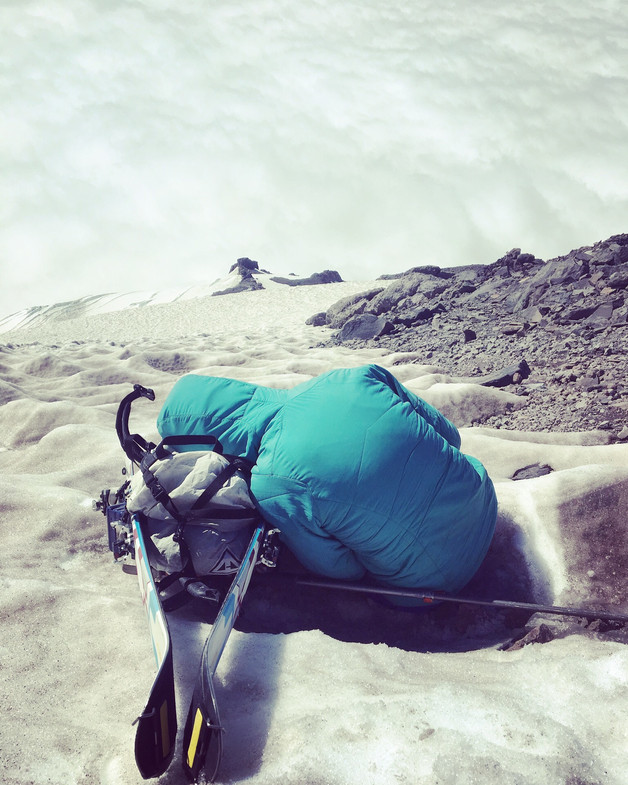 Nap Time on the Kautz Glacier