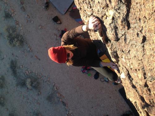 Corie Climbing