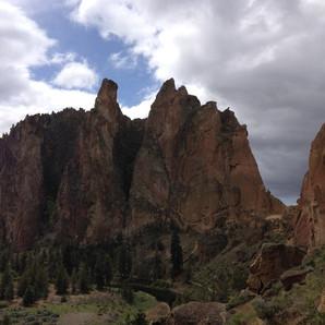 Climbing at Smith Rock May 9-11, 2014