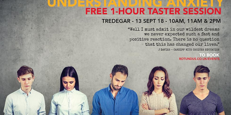 Understanding Anxiety Taster Workshop