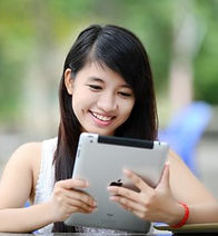 Person-girl-smiling-tablet-e151501806111
