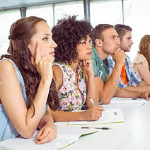 38111757-fashion-students-being-attentiv