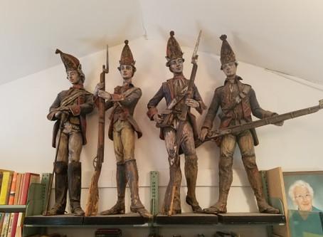 Baron Steuben Hessian Soldiers 1929