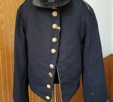 Civil War Union Shell Jacket and Kepi 1862