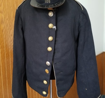 Civil War Union Shell Jacket and Kepi 1862
